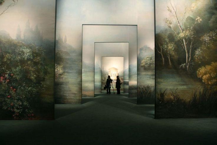 Robert Carsen – Scénographie de l'exposition Marie-Antoinette, Galeries nationales du Grand Palais, Paris (2008)