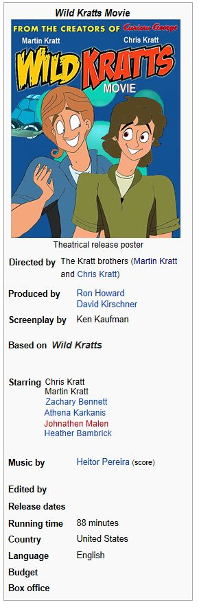 Wild Kratts Movie Wiki