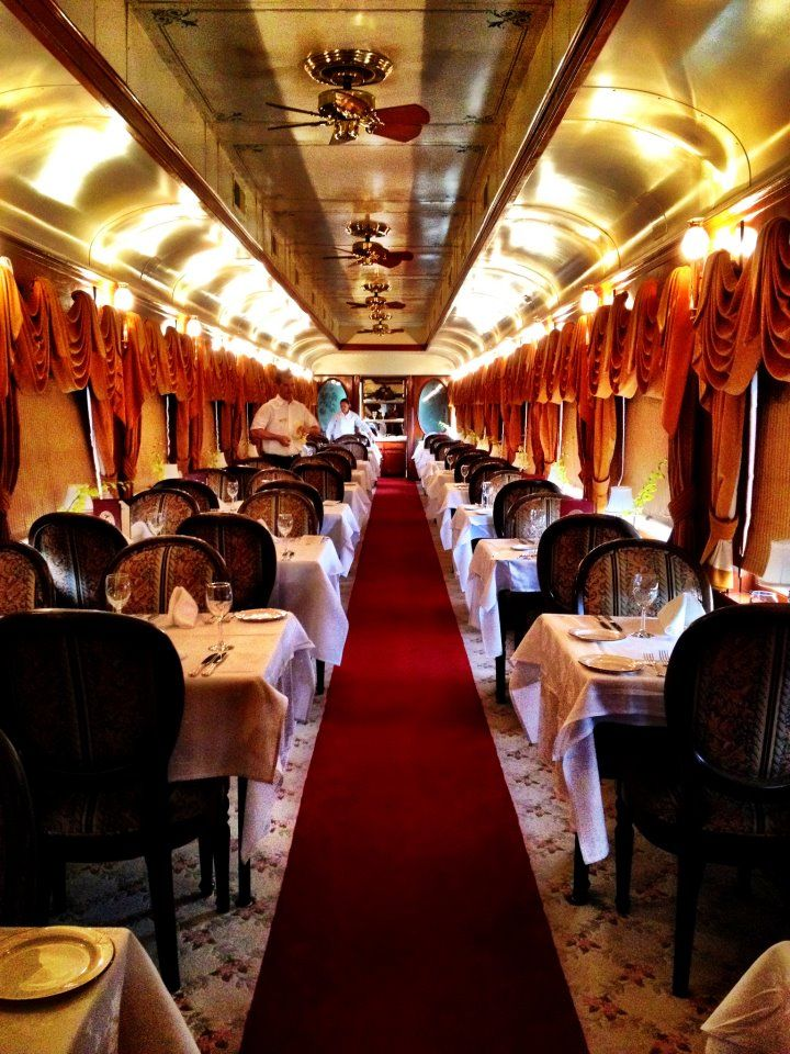 Napa Valley Wine Train.  Beso de Vino - we did this on our honeymoon...great memories!