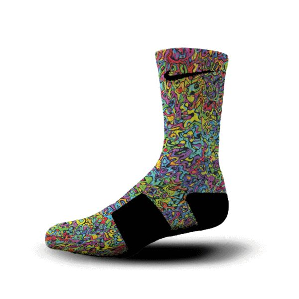 Custom Elite Socks - $14.99 to $24.99. 100s of Unique Designs.  Makes a great holiday gift!