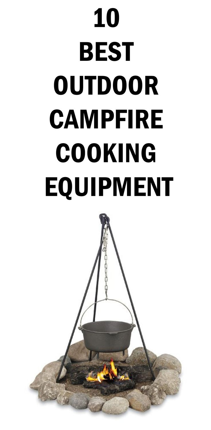 10 BEST OUTDOOR CAMPFIRE COOKING EQUIPMENT #campfirecooking #outdoorcooking #campingcookware #barbeqa