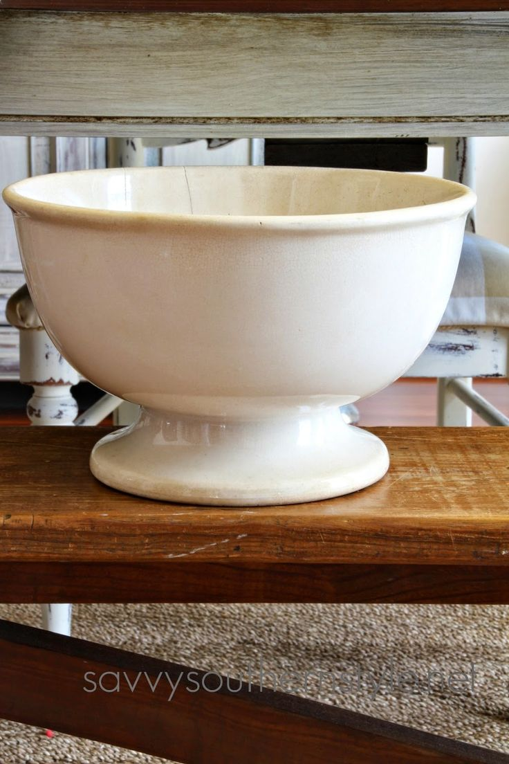 Savvy Southern Style: A Rare Ironstone Find
