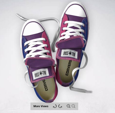 BISEXUAL PRIDE CONVERSE I WANT THEM