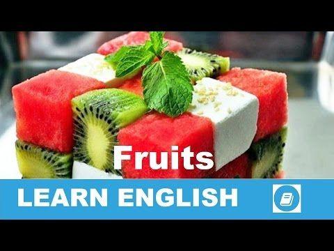 Learn English Vocabulary - Fruits 1 - E ANGOL