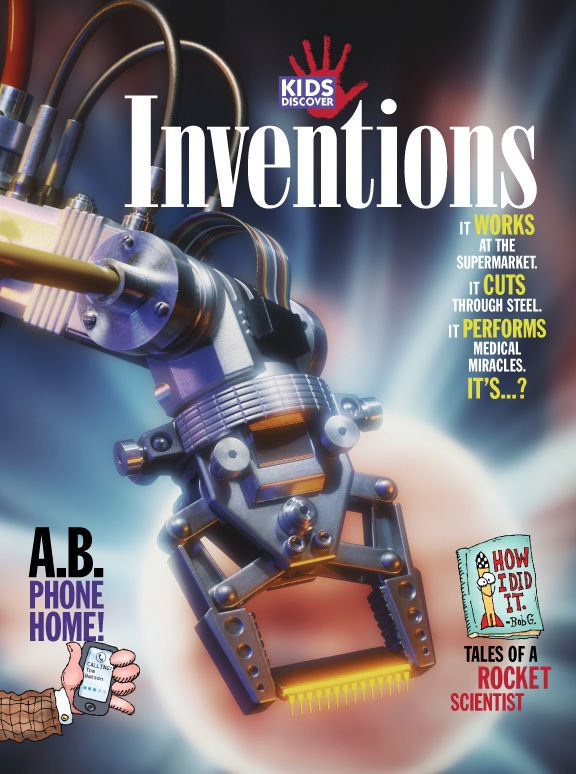 All the latest and greatest inventions, for kids, are covered here, from ones that took years of development – like computers, TVs, and cars – to the ones that were the result of sheer serendipity, like safety glass, Velcro, and popsicles.