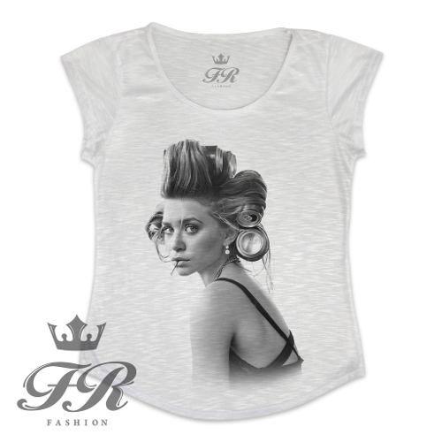 T-shirt Feminina I Love Nerds - Fr Fashion