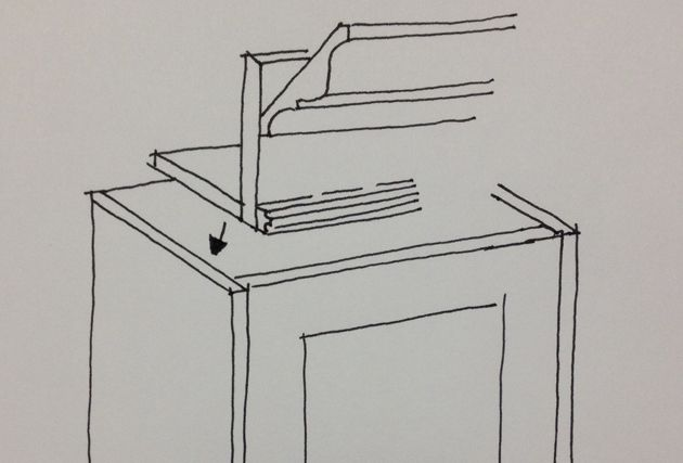 Transform your Cabinets with an upper valence
