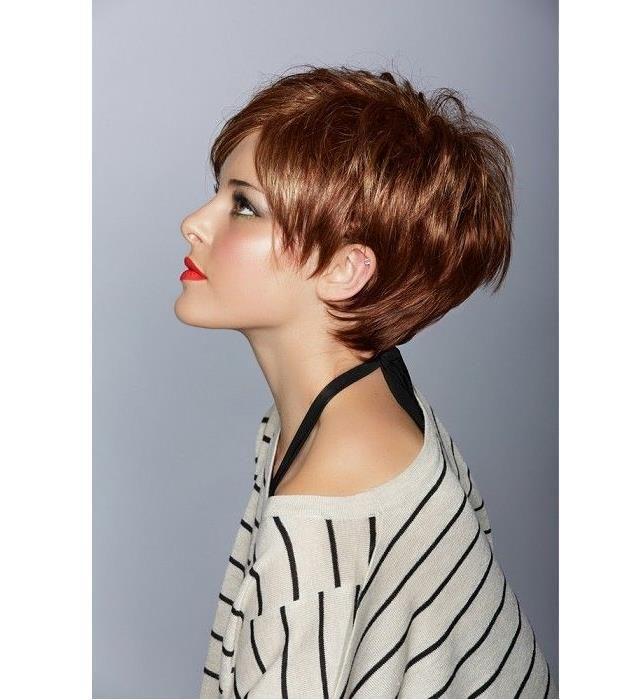 Modne krótkie fryzury dla starszych kobiet 40+, które działają odmładzająco. Galeria krótkich fryzura z grzywką i pixie cut dla starszych kobiet.