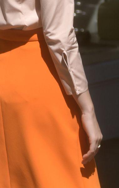 Anaïse | Veronique Leroy Cotton Poplin Button-Up
