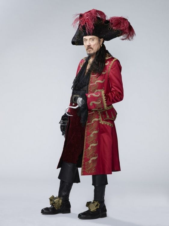 High Res PETER PAN LIVE! -- Season: 2014 -- Pictured: Christopher Walken as Captain Hook -- (Photo by: Patrick Randak/NBC)