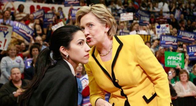 Huma Abedin's job arrangement under Hillary investigated by State Dept. IG