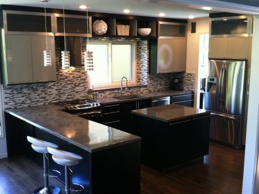 Midwest Concrete Stained Concrete Countertops