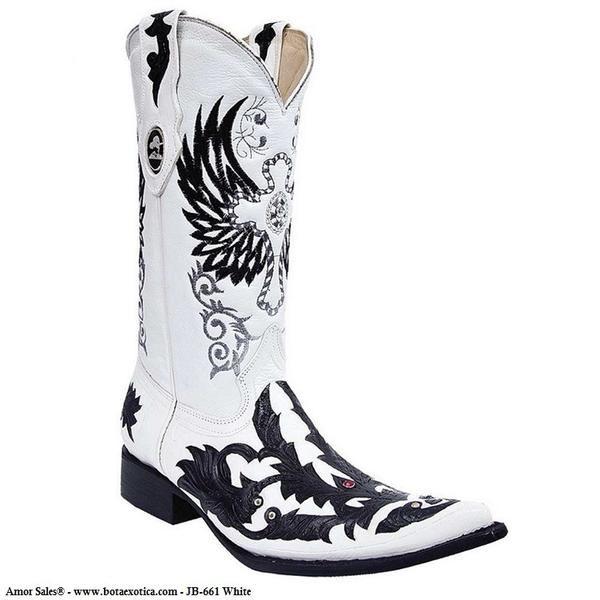 Joe Boots - JB-661 - Botas Exóticas para Hombre Joe Boots - Exotic cowboy boots for Men / Joe Boots - Botas vaqueras Exóticas para Hombre. Botas exóticas para caballero, cinceladas ( Cincelado hecho a mano ). Tallas Disponibles: del 6 al 11 / Available Sizes: 6 - 11 Joe Boots - Botas Exóticas para Hombres - Venta solamente en USA. Exotic Boots for Men For sale only in the United States. El precio incluye impuestos de venta (Sales Tax) y costo de envio dentro de Estados Unidos Bota ...