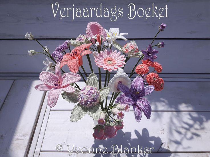 Haakpakket Verjaardags boeket - Hobby-benodigdheden.nl