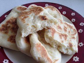 lepénykenyér serpenyőben sütve, recept fázisfotókal, Kociss Hajnalka receptje