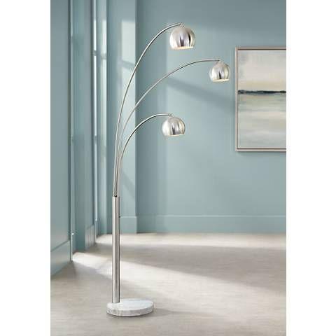 Crosstown 3-Light Arc Floor Lamp - #P9458   Lamps Plus