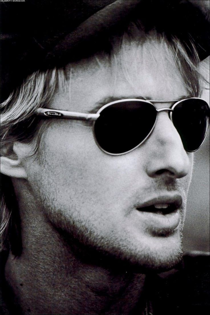 You can think of Hollywood as high school. TV actors are freshmen, comedy actors are maybe juniors, and dramatic actors - they're the cool seniors. Owen Wilson (Love him, he can be so freaking funny in a very sneaky way!)