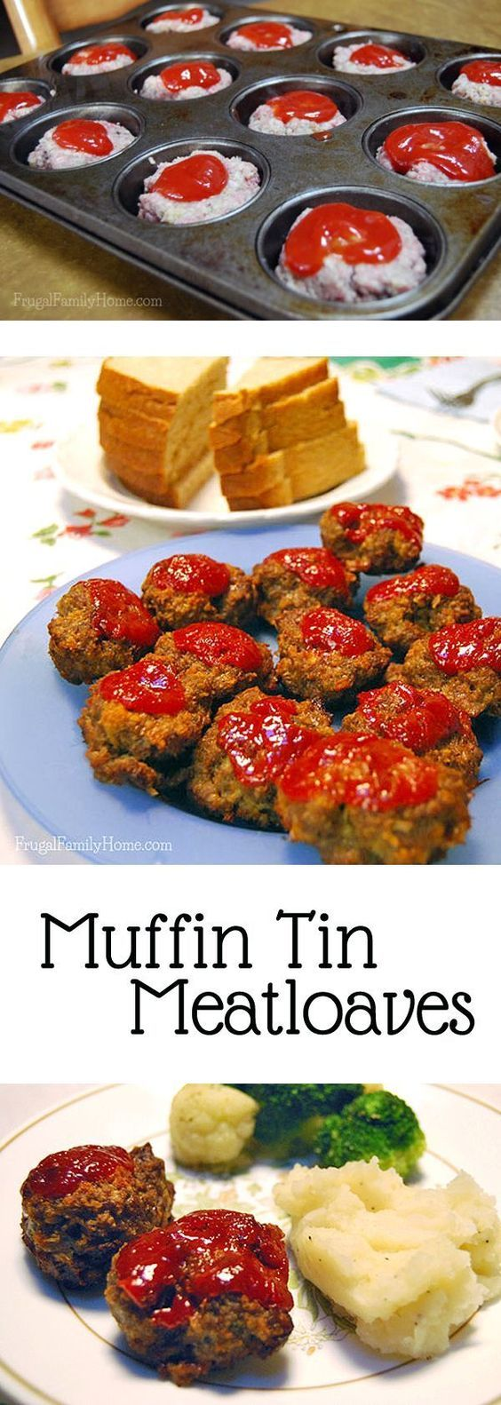 Make meatloaf more appealing to the kids, cut it down to size. Make mini meatloaves that the kids will eat with this dinner recipe. My kids don't really like meatloaf, but will gobble these down without one complaint.