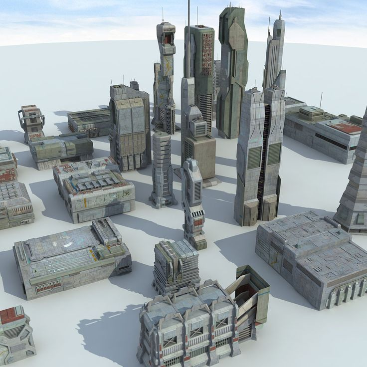 3D MODEL: https://www.turbosquid.com/3d-models/3d-sci-fi-futuristic-city-model/844711?referral=cermaka
