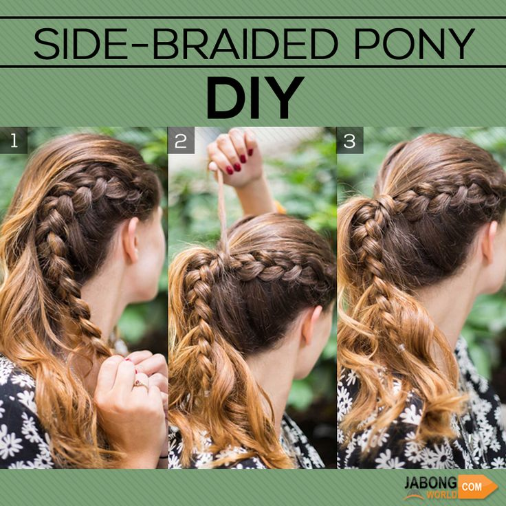 Not bad huh! ;) #DIY #Fashion #Hairstyle #Easy