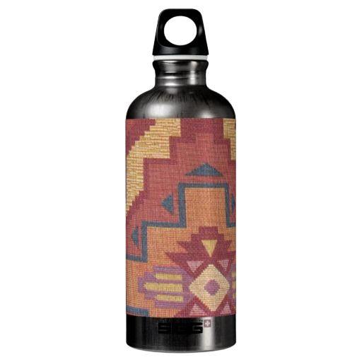Southwestern pattern fun water bottle