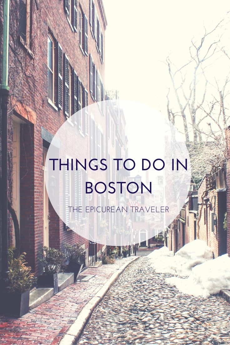 Essential Boston Five Things To Do During Your First Visit