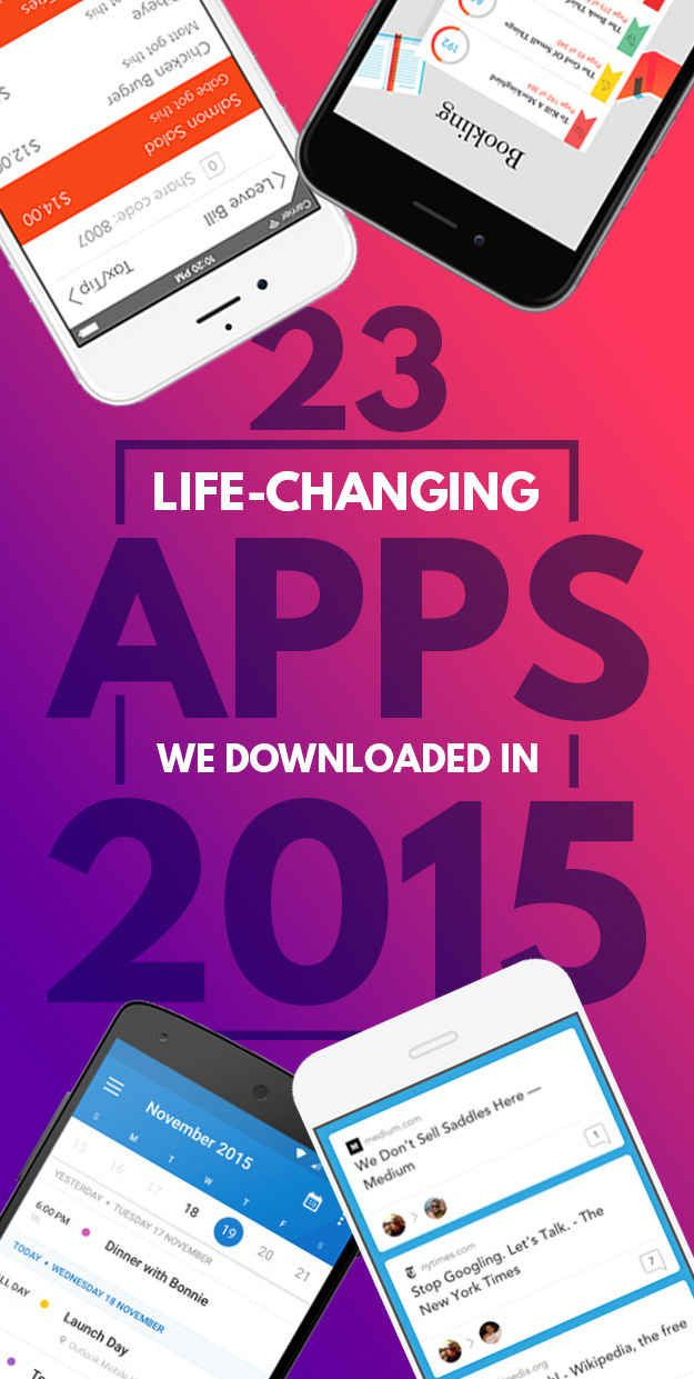 23 Life-Changing Apps We Downloaded This Year