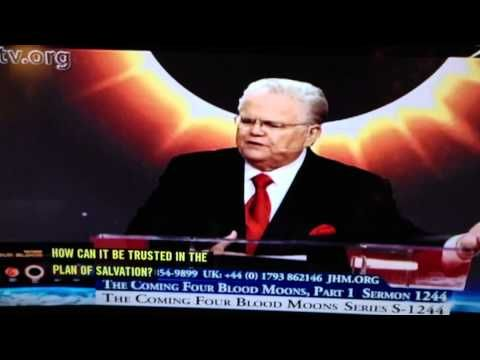 Coming Four Blood Moons By John Hagee.  Great message!  Scripturally sound and truly prophetic.