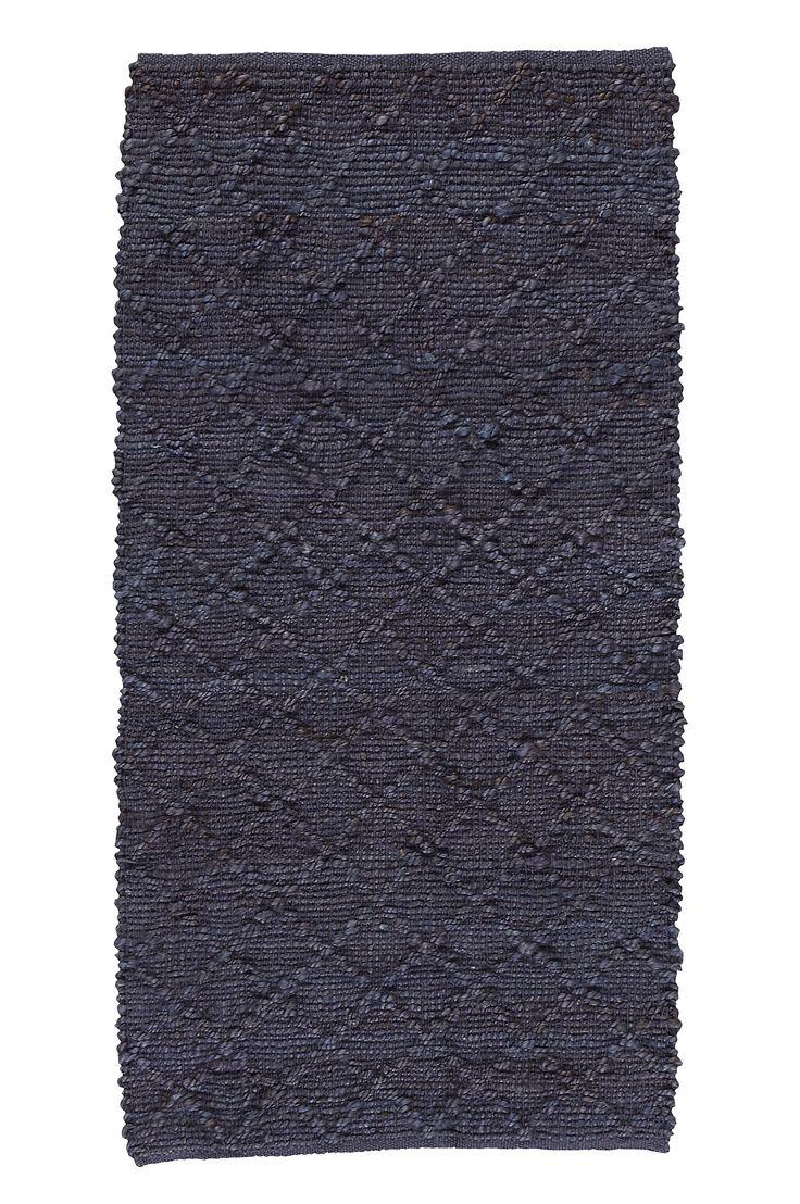 ellos home matta stockton 70x150 cm i färgerna petrol mörkgrå mörkgul inom hem
