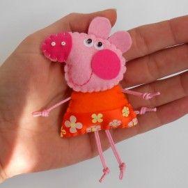 Mumps - a brooch made of felt [TinyArt] --> Zitolo.com