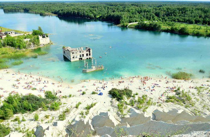 Viron Rummusta löytyy vedenalaisia vankilarakennuksia