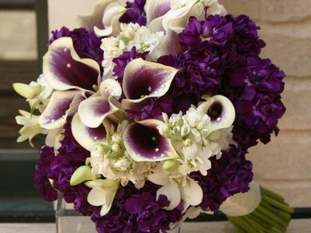 Purple wedding flowers ideas   Wedding Blog Ideas and Tips   Our wedding   Pinterest   Wedding Flowers, Wedding and Purple Wedding
