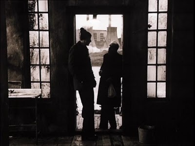 Stalker (Tarkovsky, 1979) The long ride that we had through the decaying docks of St. Petersburg reminded me of the journey into the Zone.