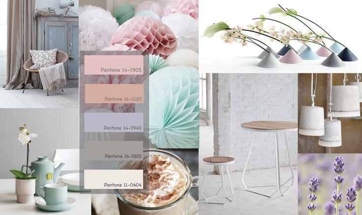 Rustig kleurenpalet met mooie pastel kleuren voor je for Interieur kleuren 2014