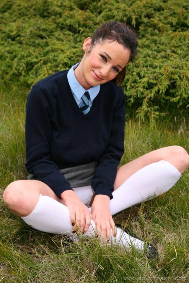 real english school girl