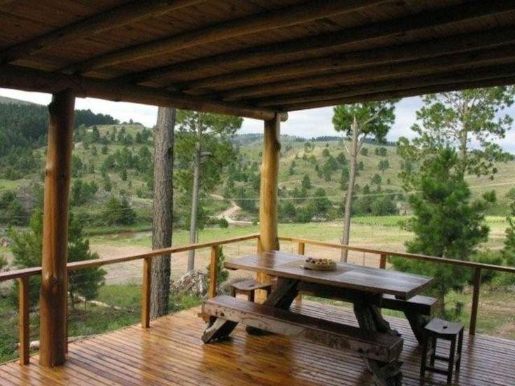 Cabaña El Portal, viñedos y rio - Casas en alquiler en La Cumbrecita - Villa Berna - Villa General Belgrano