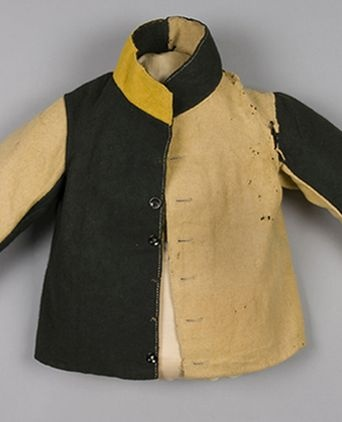 Convict jacket from the Powerhouse Museum. 1855-1880