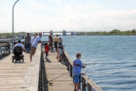Captree State Park - Home to the largest public fishing fleet on Long Island, Captree State Park is a fishing haven.