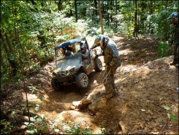 Ride Royal Blue ATV Resort and Campground Trail