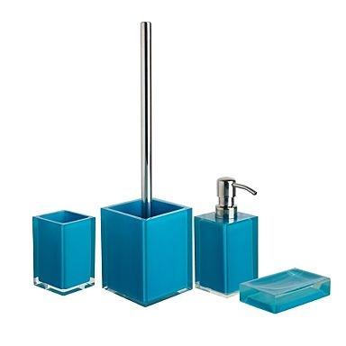 Gallery Website Teal bathroom accessories
