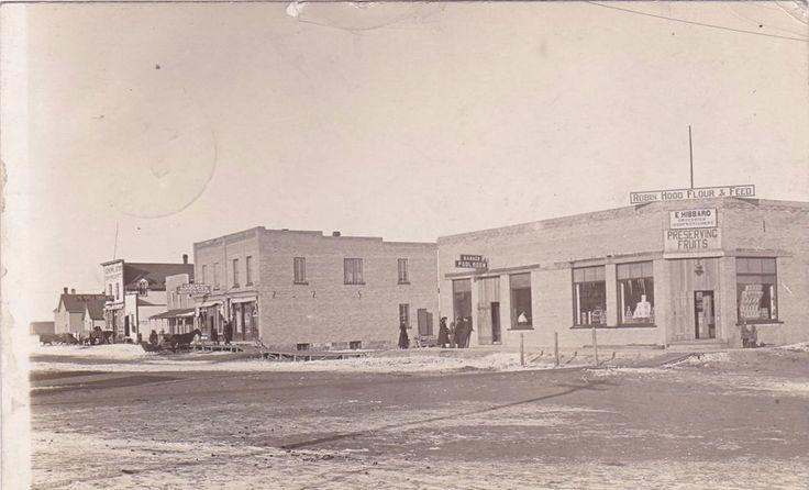 RP: Main Street , REDVERS , Saskatchewan , Canada , PU-1908