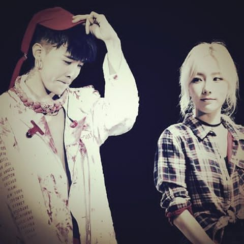 you are my baby boy  @xxxibgdrgn @taeyeon_ss   #gtae #gdragon #taeyeon #kwanjiyong #kimtaeyeon