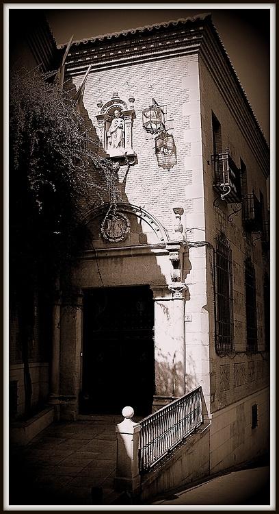 Portada del Palacio de Oñate. Toledo