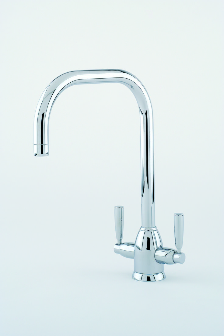 perrin amp rowe oberon sink mixer with u spout in chrome cp: perrin rowe lifestyle