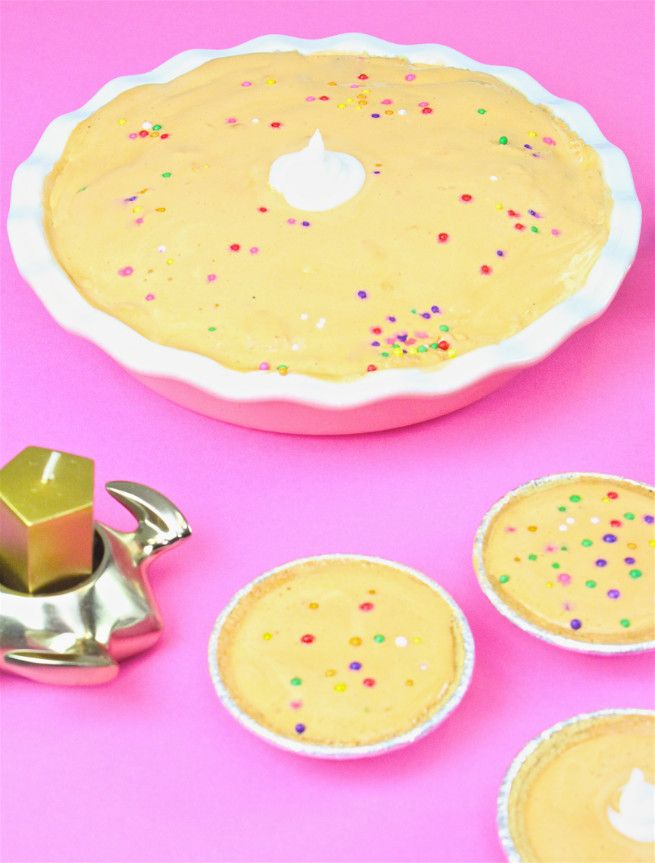 Mini Ice-Cream Pumpkin Pie For Thanksgiving! ⋆ Brite and Bubbly