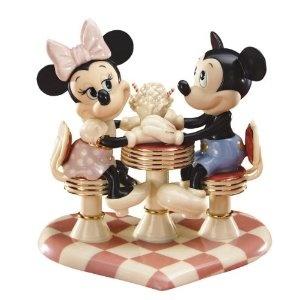 Lenox Mickey's Soda Shop Sweetheart