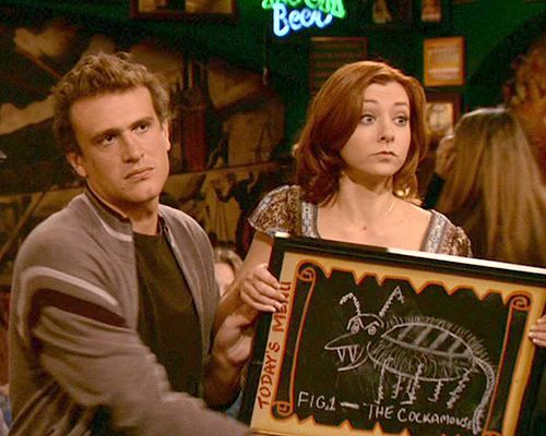 Lol the cockamouse from How I Met Your Mother. This is the episode that got me into this show