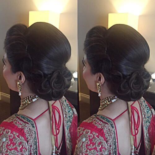 34 best Hairstyles with saree images on Pinterest | Saree ...
