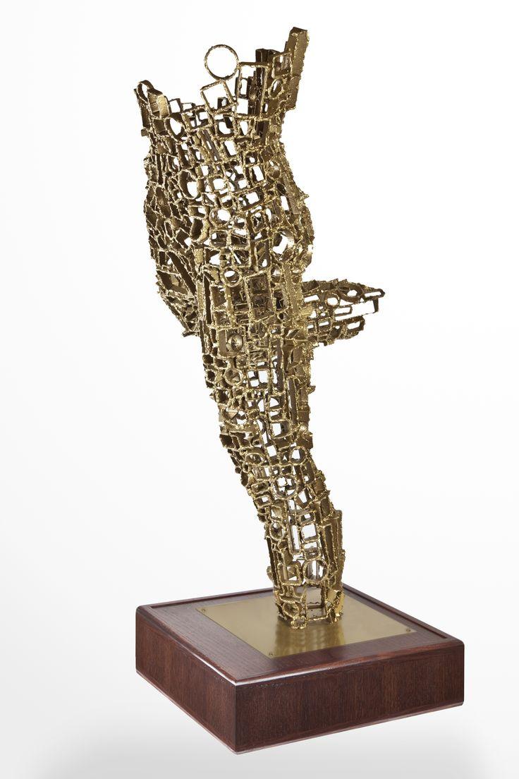 Akelo Andrea Cagnetti - MONIQUE, A TRIBUTE TO HER (A. 101 cm; L. 59 cm; P. 68 cm) Scultura Metallo