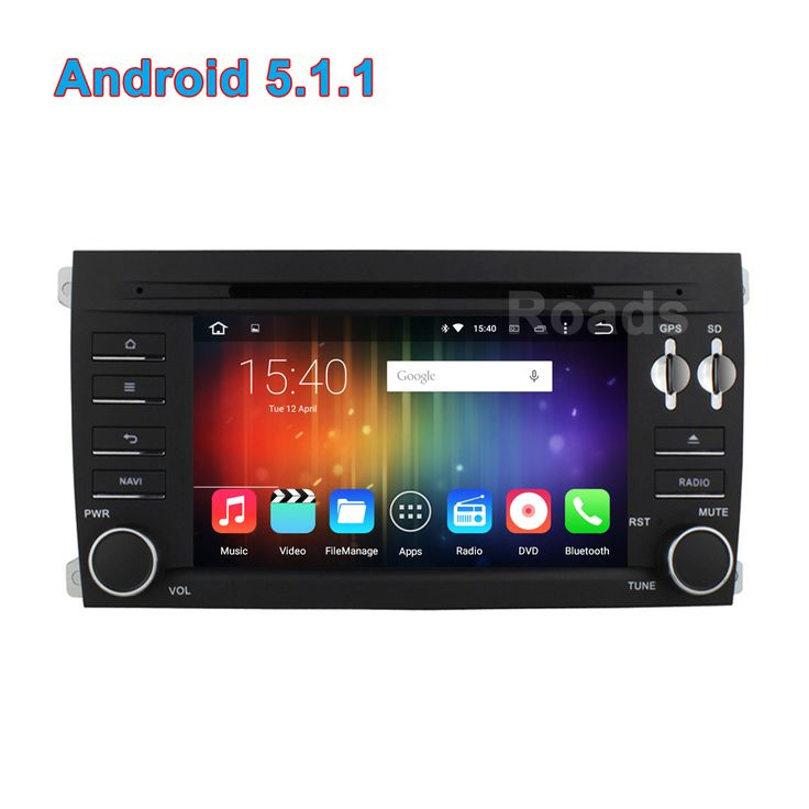 Quad Core Android 5.1.1 Car DVD GPS for Porsche Cayenne 2010 2009 2008 2007 2006 2005 2004 2003 with Mirror-link BT Wifi Radio